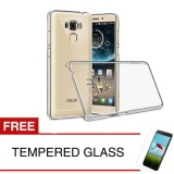 Diskon Crystal Case For Asus Zenfone 3 Max Zc553Kl 5 5 Clear Hardcase Gratis Tempered Glass