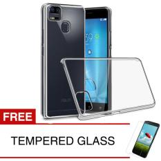 Crystal Case for Asus ZenFone 3 Zoom / ZE553KL - Clear Hardcase +  Gratis Tempered Glass