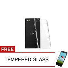 Crystal Case for Blackberry Z3 - Clear Hardcase +  Gratis Tempered Glass