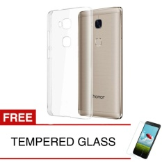 Crystal Case for Huawei GR5 / Honor 5X - Clear Hardcase +  Gratis Tempered Glass