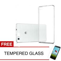 """Crystal Case for Huawei P8 Lite / 5.0"""" - Clear Hardcase + Gratis Tempered Glass"""