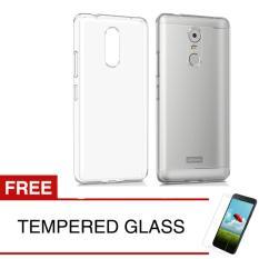 Jual Crystal Case For Lenovo K6 Note Clear Hardcase Gratis Tempered Glass Online Dki Jakarta