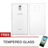 Crystal Case For Lenovo Vibe P1M Clear Hardcase Gratis Tempered Glass Crystal Case Diskon