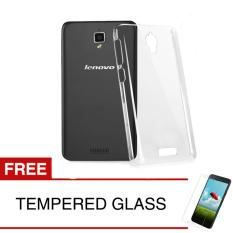 Crystal Case for Lenovo Vibe X / S960 - Clear Hardcase +  Gratis Tempered Glass