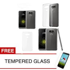 Spek Crystal Case For Lg G5 G5 Se Clear Hardcase Gratis Tempered Glass Crystal Case