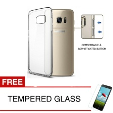 Beli Crystal Case For Samsung Galaxy S7 Flat G930 Clear Hardcase Gratis Tempered Glass Lengkap