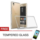 Promo Crystal Case For Sny Xperia Z3 Z3 Plus E6553 5 2 Clear Hardcase Gratis Tempered Glass Crystal Case Terbaru