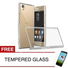 Spesifikasi Crystal Case For Sny Xperia Z3 Z3 Plus E6553 5 2 Clear Hardcase Gratis Tempered Glass Online