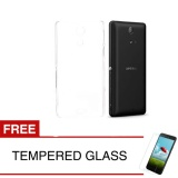 Jual Crystal Case For Sony Xperia Zr C5502 4 55 Inch Clear Hardcase Gratis Tempered Glass Grosir