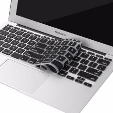 Crystal Guard Silicone Keyboard Cover Protector for Apple Macbook Air 11.6 Inch - Hitam