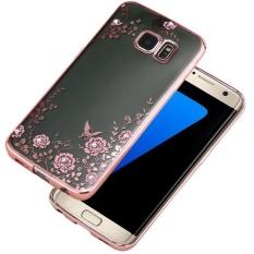 Crystal Rubber Back Plating TPU Soft Case Cover untuk Samsung Galaxy S7 PK-Intl