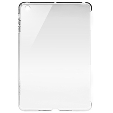 Crystal Smart Cover Partner Protective Shell for iPad Mini 1/2 - Transparent