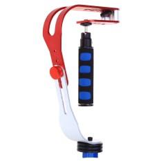 CS-S0 Handheld Dilepas Stabilisator Video untuk iPhone Samsung Hero HD Digital Camcorder Kamera DSLR DV (Merah)