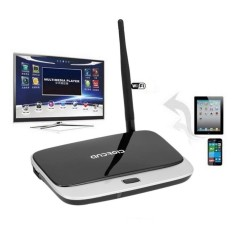 CS918 Quad Core Android 4.2 TV Box Player HDMI WiFi 1080P 2GB 8GBEU Plug   - intl