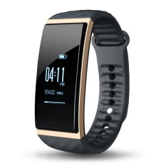 CUBOT S1 Smart Band 0.96inch OLED Screen 128*64pixel IP65 Bluetooth 4.0 Smart Wristband Heart Rate Sleep Monitor Air Pressure/Temperature Monitor Remote Control Camera GPS Motion Trail for iPhone Samsung S6 S7 edge Android iOS Smartphone - intl