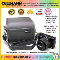 CULLMANN RAIN COVER GREY Original Camera Bag for Mirrorless Camera Canon Nikon Sony Camcorder Panasonic and Action Camera GoPro Brica Xiaomi Yi