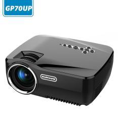 Cusepra Android Smart Wifi Proyektor, GP70UP Nirkabel Mini LED Proyektor Video Dukungan Smartphone Laptop TV BOX DVD VGA Dll Miracast Airplay untuk Hiburan