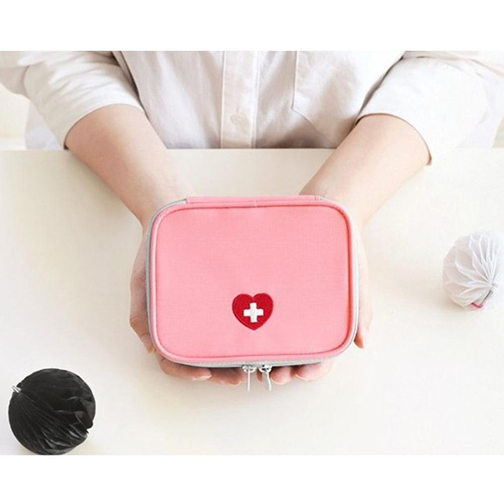 Harga Cute Berguna Portable Medical Kit Kolam Pertolongan Pertama Tas Carry On Tas Obat Untuk Perjalanan Perjalanan Bisnis Rumah Tangga Tas Penyimpanan Warna Pink Intl Lengkap