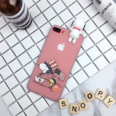 Cute Cartoon Phone Case Silikon Lembut Berkualitas Tinggi Full Cover Case untuk IPhone 6 Plus/