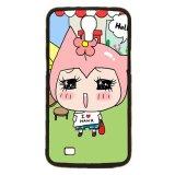 Promo Cute G*rl Pattern Phone Case Untuk Samsung Galaxy Mega 6 3 I9200 Hitam Akhir Tahun