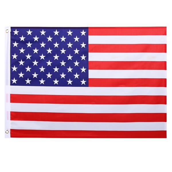 Rp 42.000. Cyber 2x3 Ft AS Bendera Amerika SERIKAT Polyester Stars Kuningan  Grommet (Multicolor)-IntlIDR42000 d28bf0c7d0