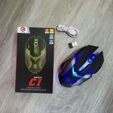 Jual Cyborg C1 Warknights Mouse Wireless 6D Gaming Rechargeable Online Di Indonesia