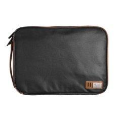 D-park Kanvas Tahan Air Organizer Laptop Sleeve Case Bag dengan Handle And Pockets untuk Macbook Air/Pro Retina 13 Inch/ASUS ZenBook-Intl