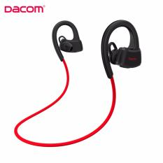 Harga Dacom P10 Waterproof Earphone Red Asli