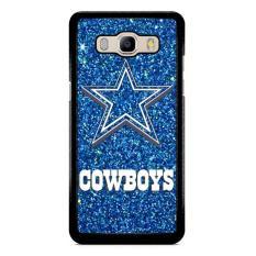 Dallas Cowboys Sparkling Glitter L1554 Samsung Galaxy J5 2016 Custom Hard Case
