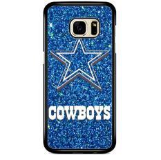 Dallas Cowboys Sparkling Glitter L1554 Samsung Galaxy Note FE Custom Hard Case