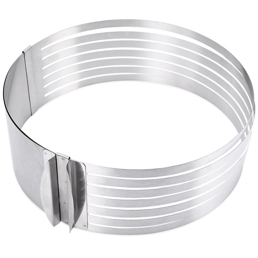 Toko Dapat Ditarik Stainless Steel Circle Mousse Kue Lapisan Cut Tool Intl Not Specified Di Tiongkok