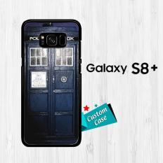 Dark Blue Tardis doctor who toys V0400 Casing HP Samsung Galaxy S8 Plus Custom Case Cover