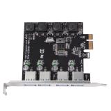 Iklan Dasktop Usb 3 Pci E Untuk 4 Port Express Kartu Ekspansi Tidak Nec Power Supply Ac542
