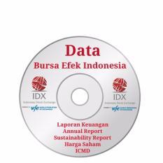 Data ICMD Perusahaan yang terdaftar di Bursa Efek Indonesia