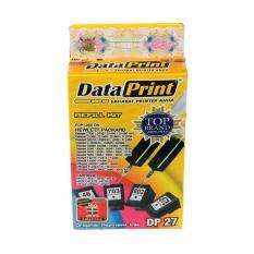 Data Print DP 27 Tinta Refill for Cartridge Printer HP - Hitam [2 x 20 cc]