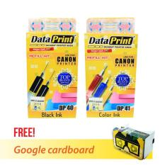 Beli Dataprint Bundling Tinta Refill Canon Free Bonus Google Cardboard V2 Secara Angsuran