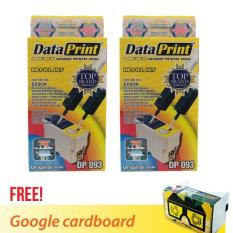 Dataprint Bundling Tinta Refill Hitam untuk Printer EPSON  + FREE BONUS GOOGLE CARDBOARD V2