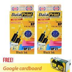 Harga Dataprint Bundling Tinta Refill Hitam Untuk Printer Hp Free Bonus Google Cardboard V2 Dki Jakarta