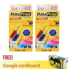 Beli Dataprint Bundling Tinta Refill Warna Untuk Printer Hp Free Bonus Google Cardboard V2 Kredit Dki Jakarta