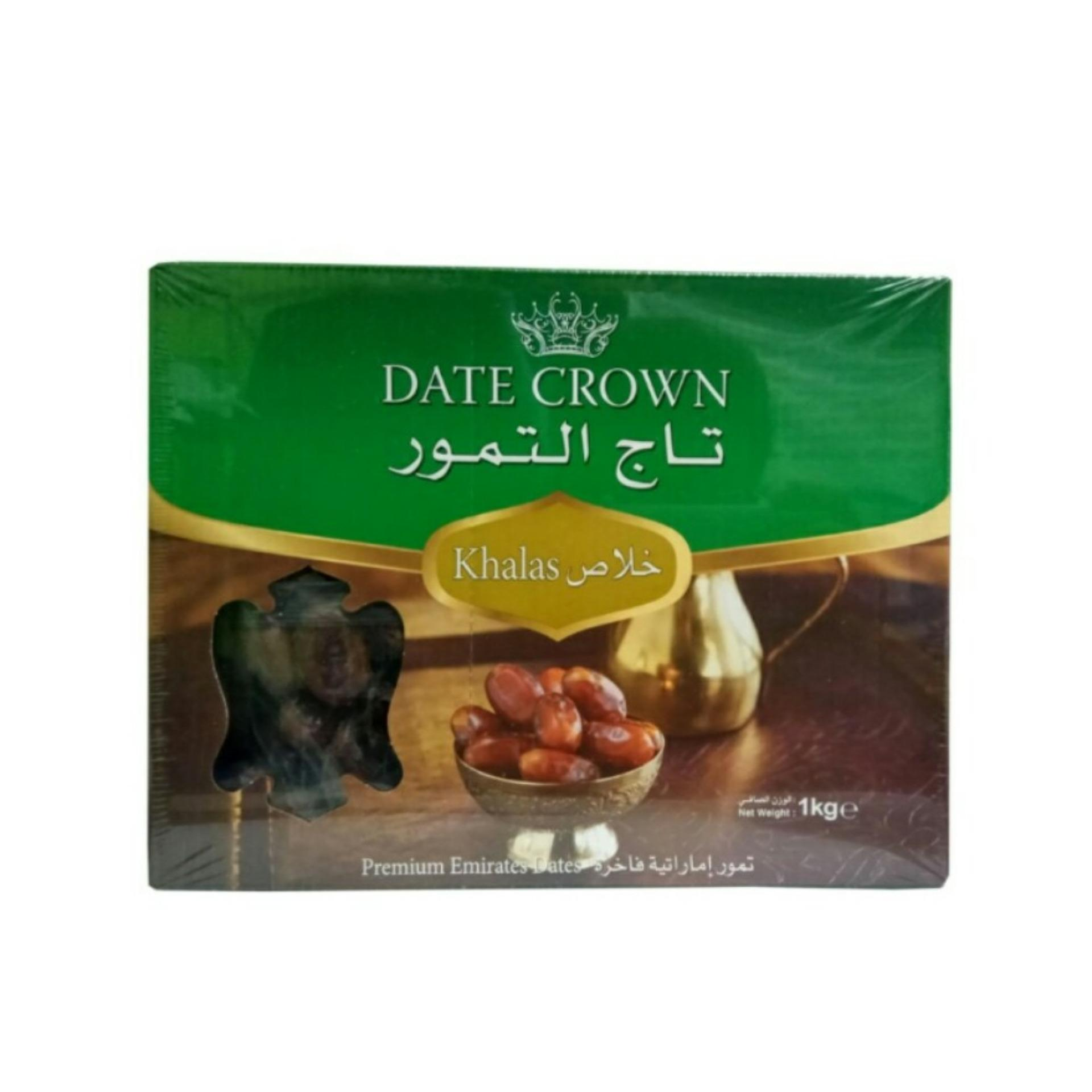 Beli Date Crown Kurma Khalas 1 Kg Date Crown