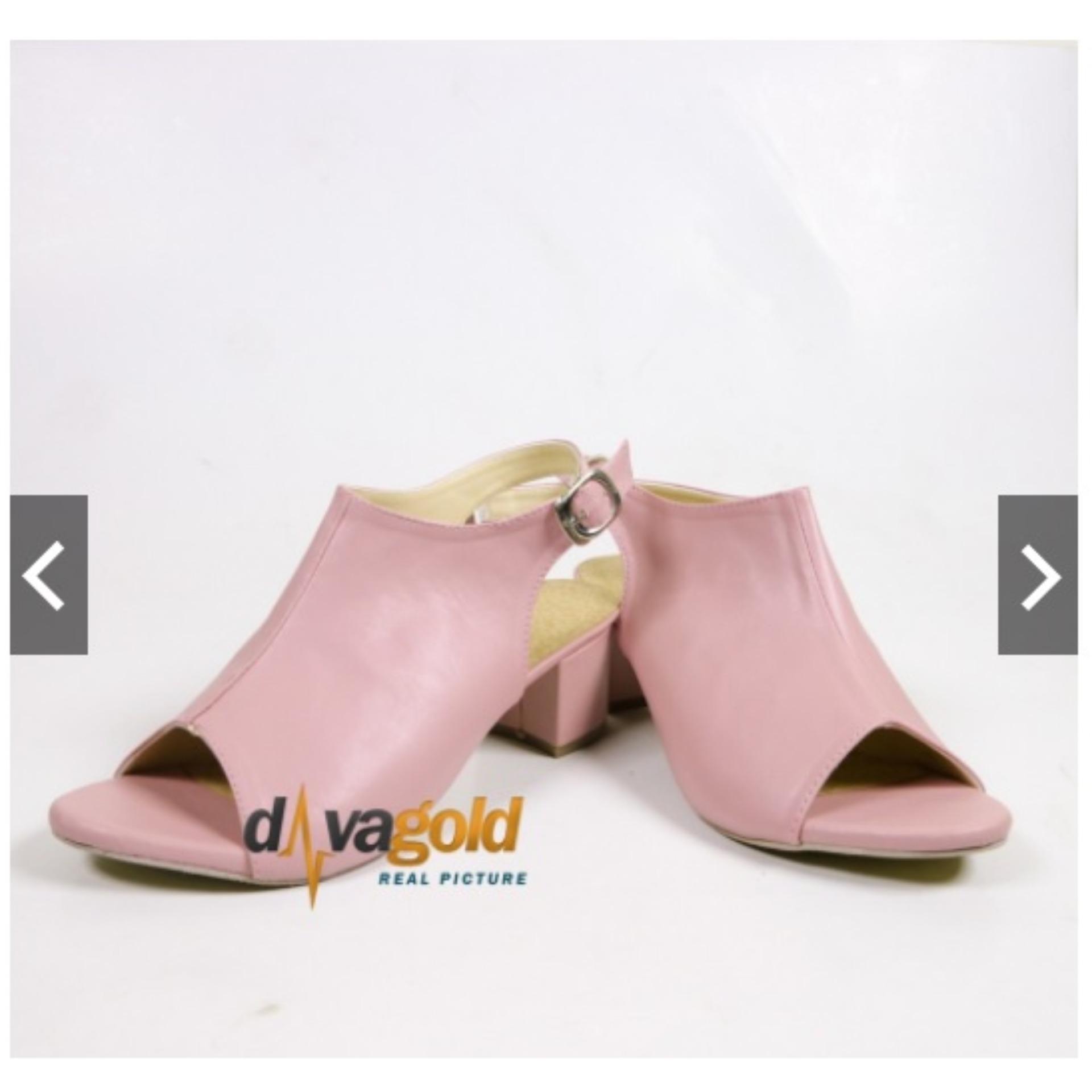 Harga Davagold Selena Sepatu Wanita Heels Kks 09 Rp 91200 Boot High Ls09 M