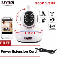Spesifikasi Daytech Hd 960P Cctv Ip Camera Wireless Home Security Camera 960P Hd Wifi Cctv Camera Network Pan Tilt Two Way Audio Ir Cut Night Vision Murah