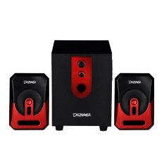 Beli Dazumba Dw 166 Speaker Bluetooth 28 Watt Rms With Usb Port Built In Sd Card Reader Hitam Merah Seken