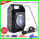 Iklan Dazumba Dw186 Speaker Portable Bluetooth Gratis Mic