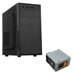 Dazumba Personal Computer Case De 220 Power Supply Dazumba Ps 380W Dazumba Diskon 30