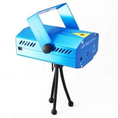 Review Dbest Mini Laser Stage Lampu Disco Biru Terbaru