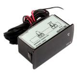 Diskon Dc 12 V 50 Untuk 110 Celcius Termometer Digital Memimpin Detektor Suhu Hitam