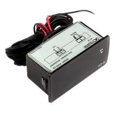 Toko Dc 12 V 50 Untuk 110 Celcius Termometer Digital Memimpin Detektor Suhu Hitam Termurah