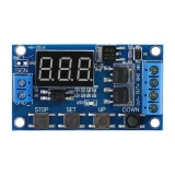 Miliki Segera Dc 5 V 36 V Memicu Siklus Delay Timer Saklar With Led Display