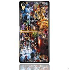 Dc Vs Marvel Cartoon Z0881 Sony Xperia Z5 Premium Custom Hard Case